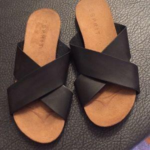 Esprit black sandal
